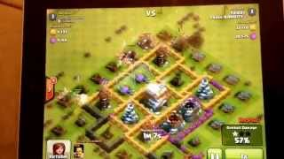 CLASH OF CLANS all barbarian raid (new gaming series)