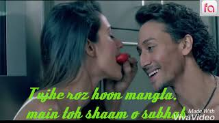 Teri haan me ho gya fida....Baghi 2 movie full HD song 2018 Arjit Singh With Lyrics...