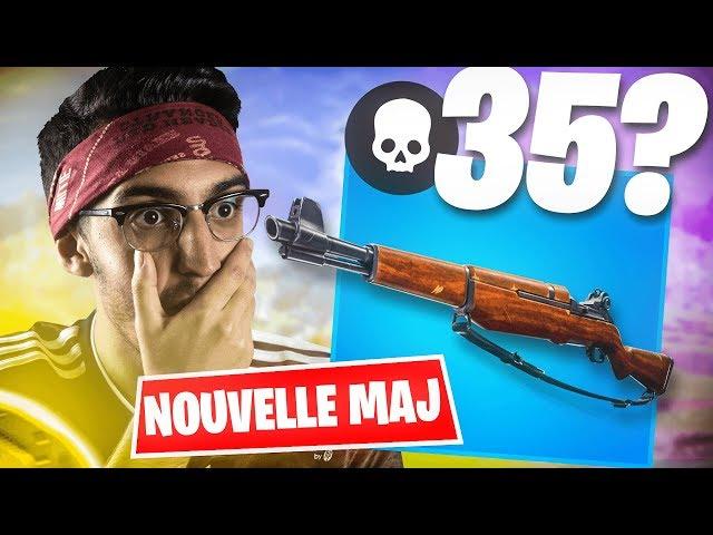 35 KILLS AVEC LA NOUVELLE ARME ? ► MAJ 7.40