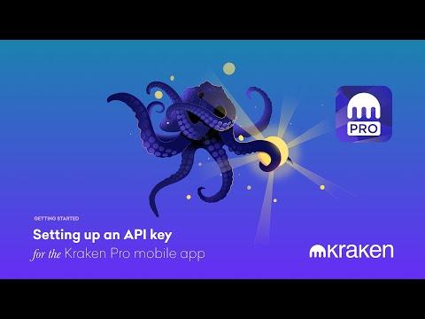 Setting Up An API Key For The Kraken Pro Mobile App
