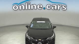 A13049PT Used 2017 Chevrolet Cruze LS FWD 4D Sedan Black Test Drive, Review, For Sale