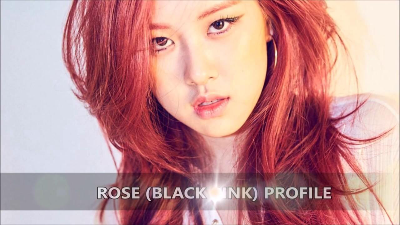 Rose Black Pink Profile Youtube