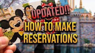 How to buy tickets to Disneyland and make reservations
