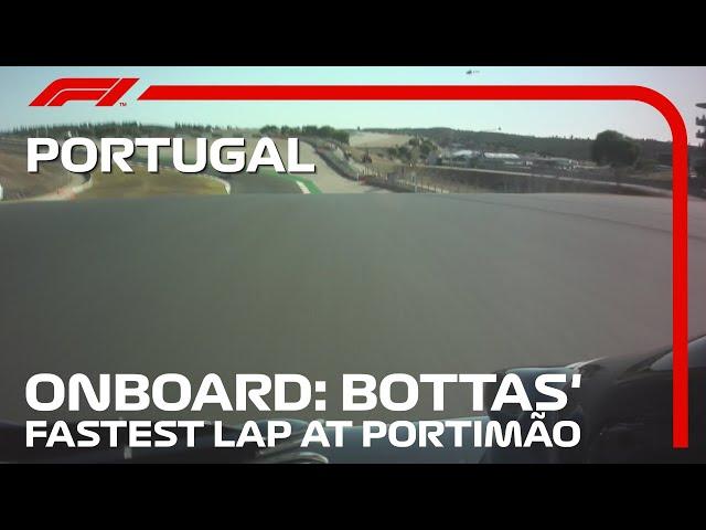 2020 Portuguese Grand Prix: Bottas' Fastest Lap In FP2