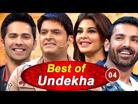 Varun Dhawan, John Abraham | Best of Undekha 2016 | Part 04 | The Kapil Sharma Show | Sony LIV