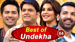 Varun Dhawan, John Abraham | Best of Undekha 2016 | Part 04 | The Kapil Sharma Show | Sony LIV