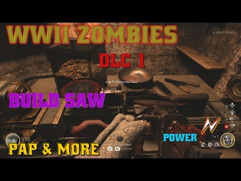 WWII ZOMBIES DLC 1 THE DARKEST SHORE (power/pap/buildables & more)