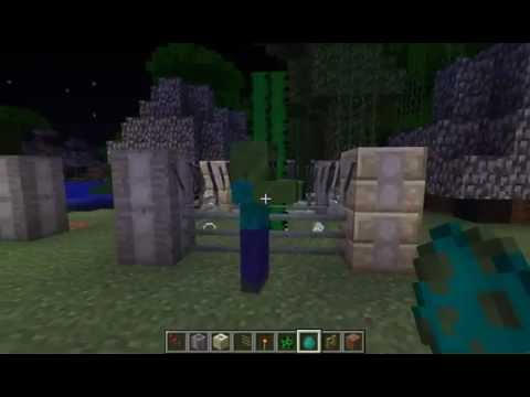how to make a fence stand in minecraft