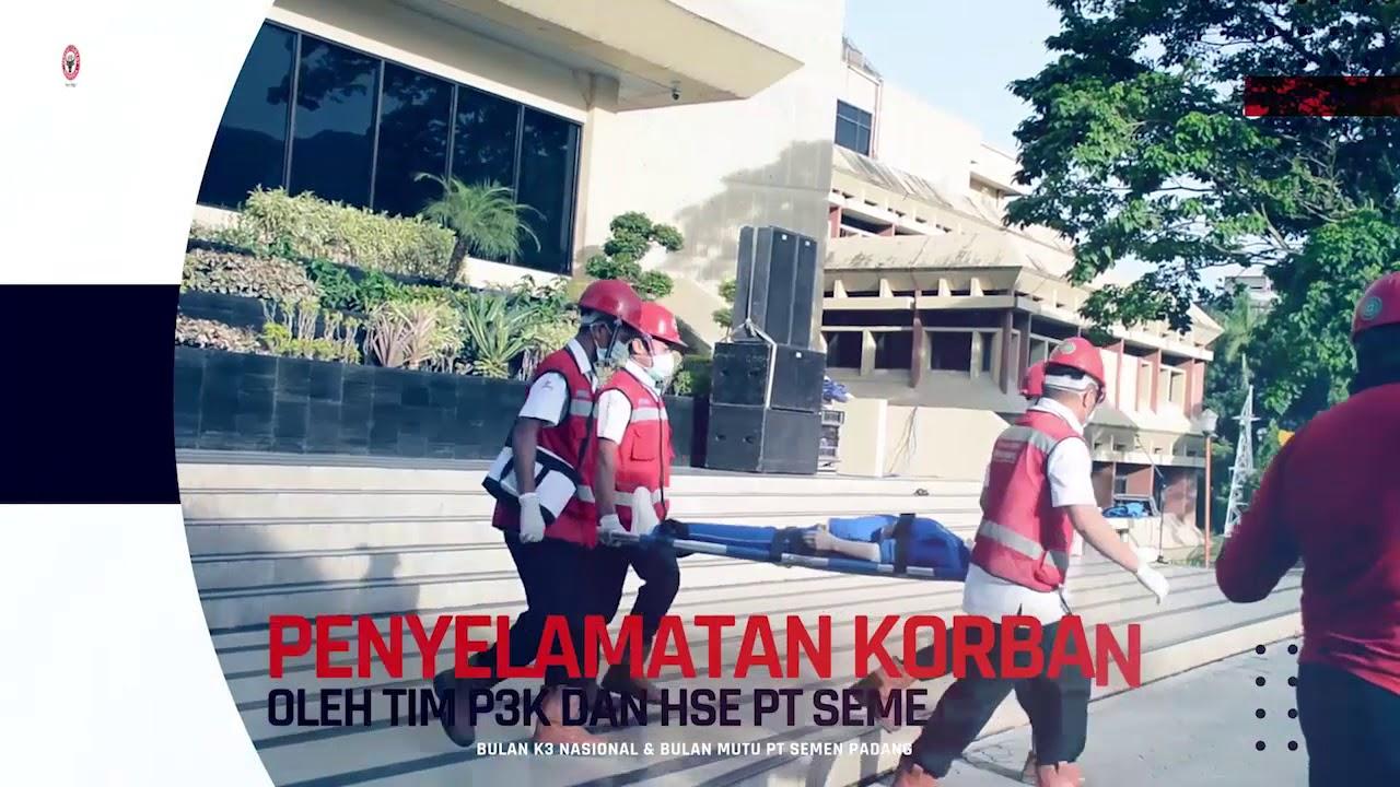 Upacara Pembukaan Bulan K3 Nasional dan Bulan Mutu PT Semen Padang