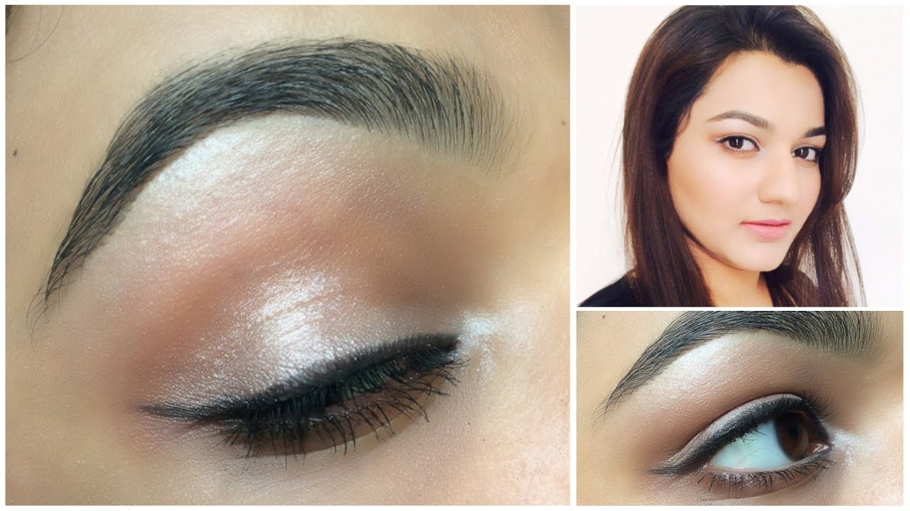 Self Make Up Tutorial For Beginners Day Look With