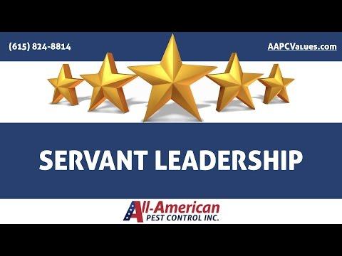 Our Core Values: Servant Leadership