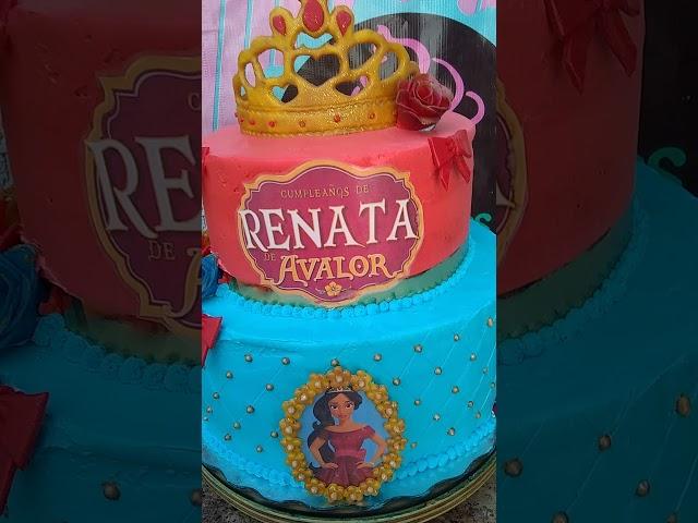 Pastel Elena de Avalor Personalizado