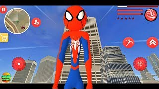 Amazing Spiderman Stickman Rope Hero New Game #Android / IOS GamePlay