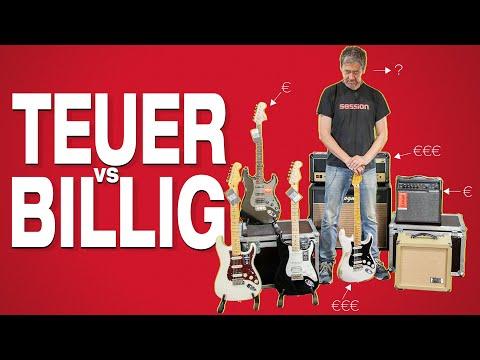Preiswerte Gitarre teurer
