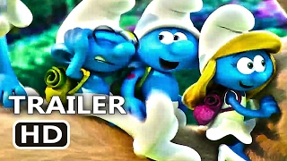 SMURFS The Lost Village Official Trailer (2017) Animation Movie HD