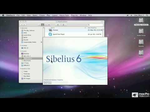 Sibelius 6 101: Core Sibelius 6 - 02. Starting Sibelius