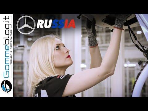 Mercedes-Benz PRODUCTION (Mercedes RUSSIAN Car Factory)