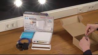Unboxing e installazione di Sitecom WLR-6100 Wi-Fi Router X6 N900 - ITALIANO