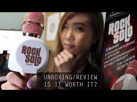 ROCK SOLO Bluetooth Karaoke Microphone Review