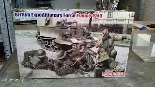 Kit review: Dragon British Expeditionary Force 1940 in 1/35 scale