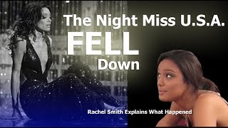 Clarksville, TN - Rachel Smith, Miss U.S.A. - talks about Miss Universe fall