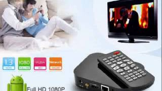$56.10 Full HD 1080P Android 2.2 Network Media Player (WiFi, HDMI)