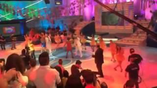 Programa Sábado Total - Cantora Paula Lima  - Buga e Jacqueline Dançando Samba Rock