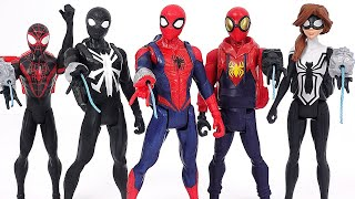 Spider-Man Prototype, Black, Arachnid, Girl backpack suit! Defeat the villains! | DuDuPopTOY