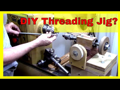 Threading Jig for Woodturners - Make or Buy?