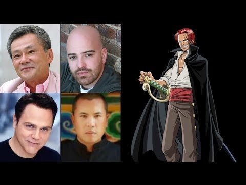 Anime Voice Comparison Shanks One Piece Youtube