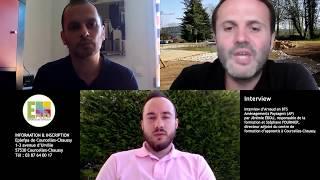 Interview d'Arnaud en BTS Aménagements Paysagers (AP)