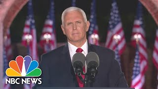 Watch Vice President <b>Mike Pence's</b> Full Speech At The 2020 RNC ...