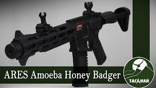 [Обзор от СК Таганай] ARES Amoeba Honey Badger. Что за зверь этот медоед?