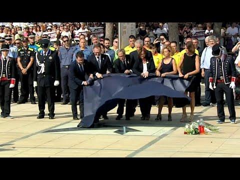 Cambrils lembra vítimas do ataque do ano passado