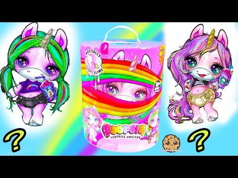 Who Is It?  Giant Surprise Unicorn Baby with Slime + Mystery Blind Bags