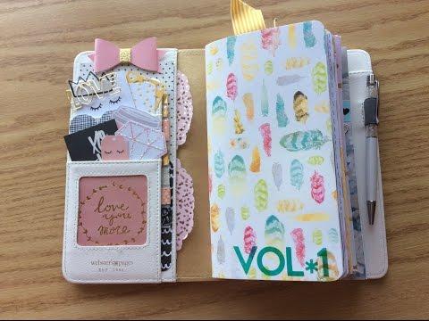 Websters Pages Travelers Notebook Journal Share October Flip