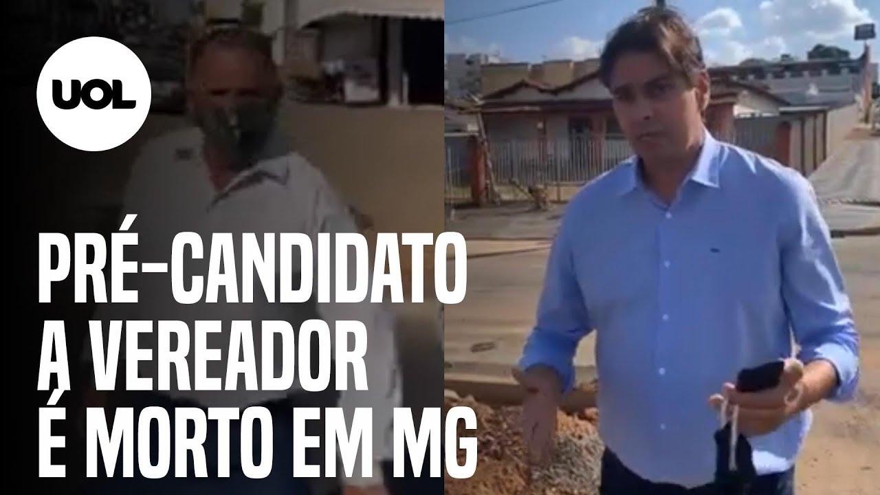 Cássio Remis: Pré-candidato a vereador é morto em MG após live