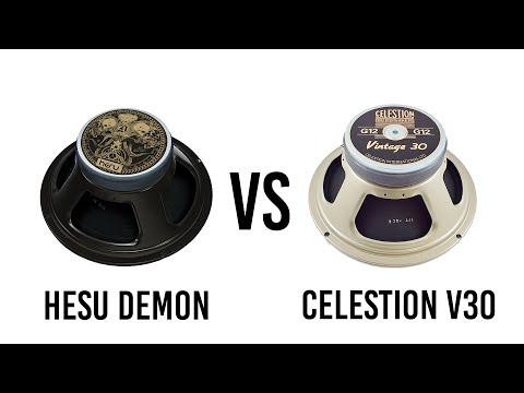 Hesu Demon vs Celestion V30 - Metal