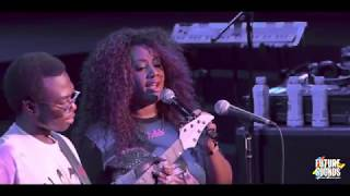 """Justus West featuring Lalah Hathaway """"How can you mend a broken heart"""" live at Future x Sounds LA"""