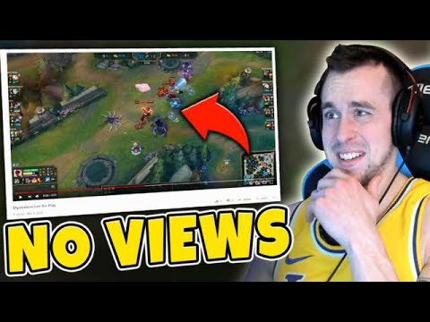 Reacting To Lee Sin Montages With 0 VIEWS... (not What I Expected) - League Of Legends
