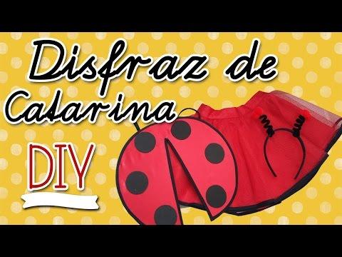 🐞 DISFRAZ DE CATARINA | DIY | Primavera