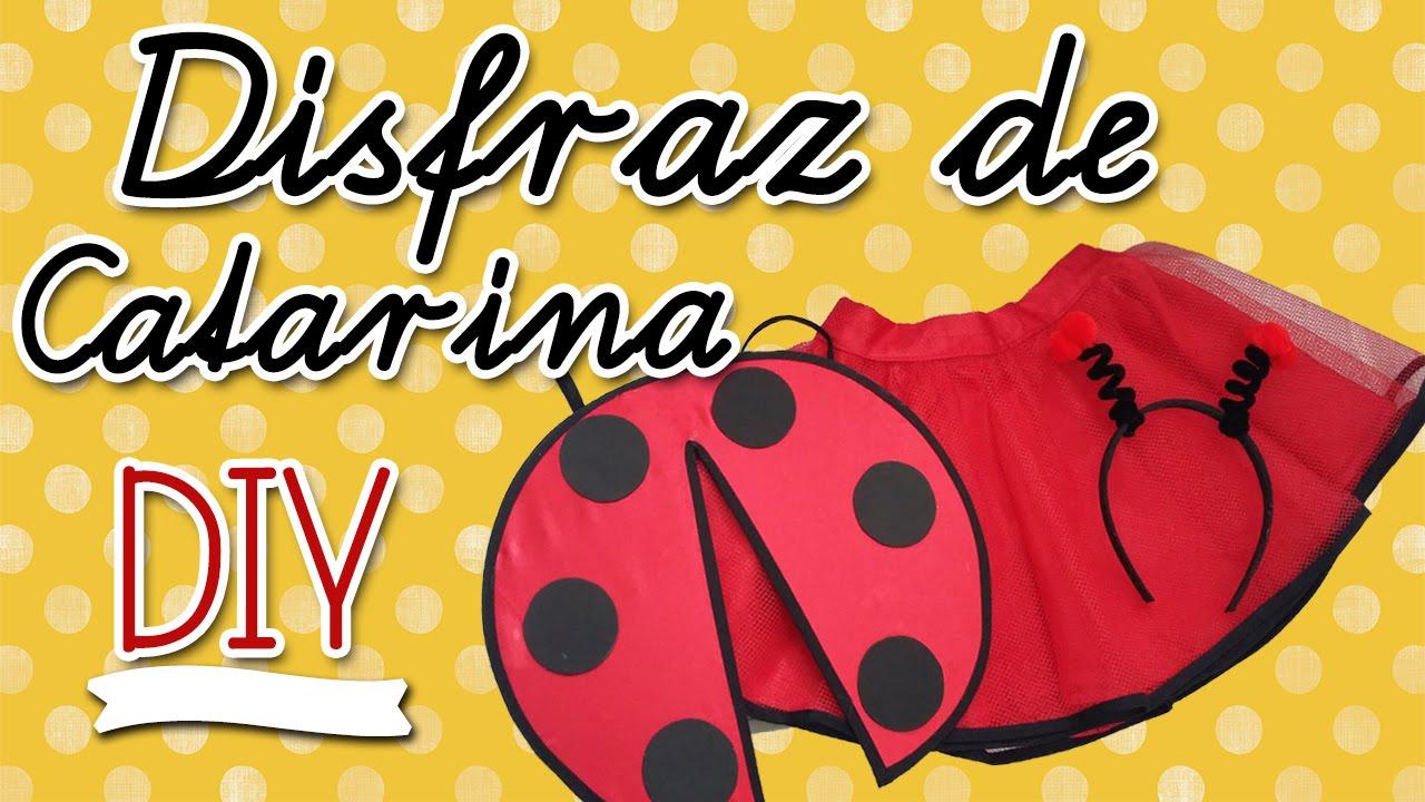 DISFRAZ DE CATARINA DIY Primavera YouTube