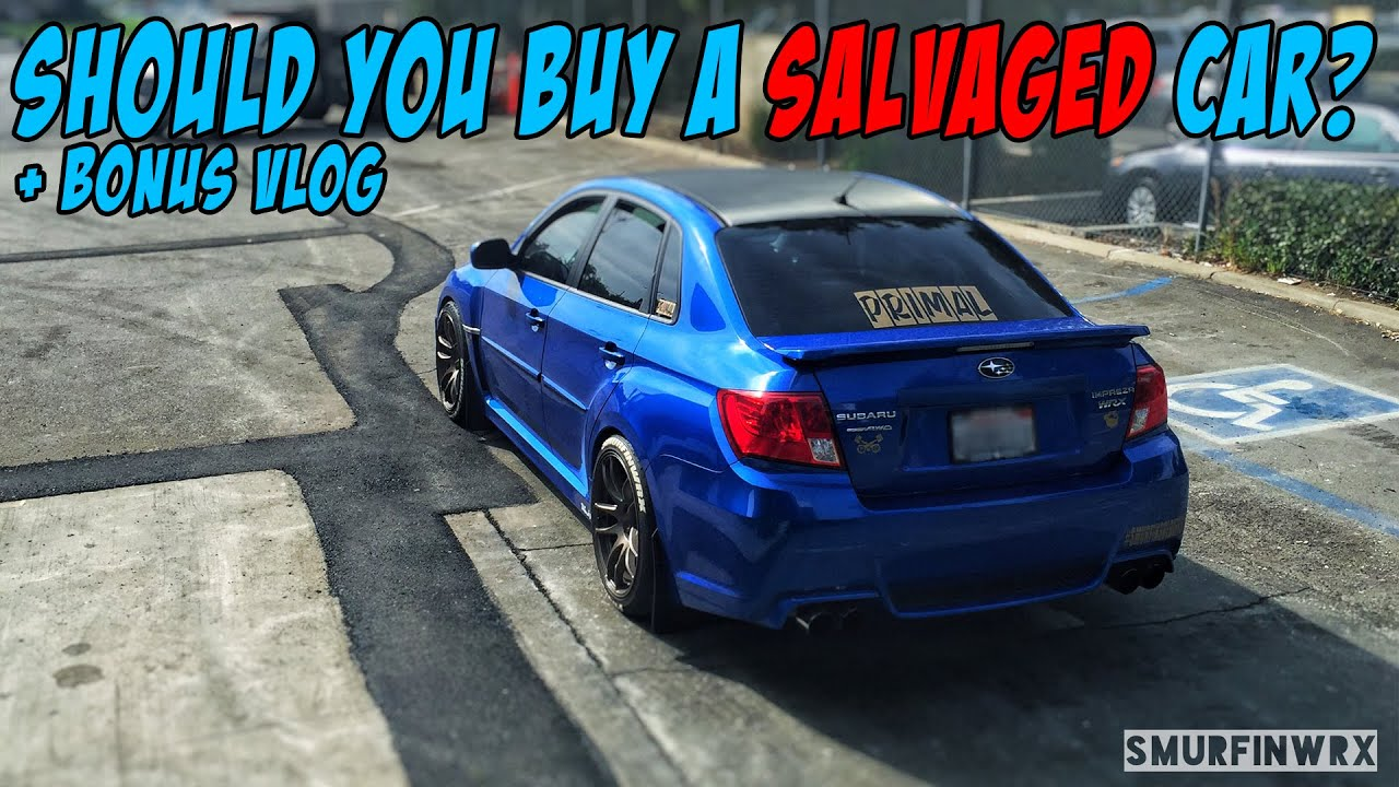 5 Reasons NOT to buy a Salvaged car - YouTube