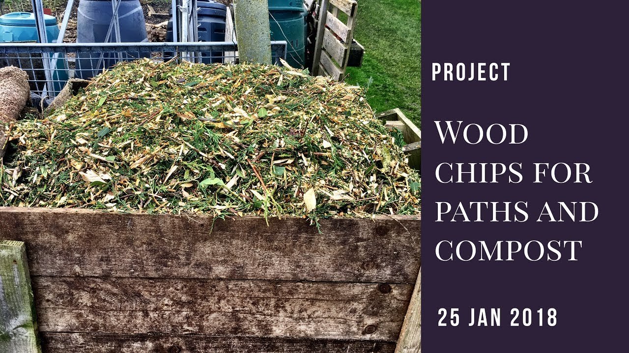 Project Wood Chip Composting And New Paths
