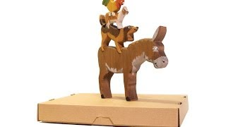 Handmade Wooden Toy - The Bremen Town Musicians