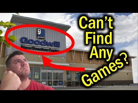 Tips for Finding Video Games at Thrift Stores!