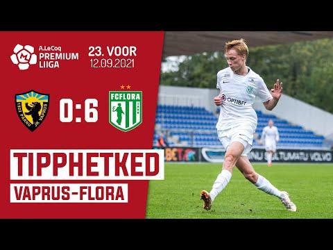 Parnu JK Vaprus Flora Tallinn Goals And Highlights