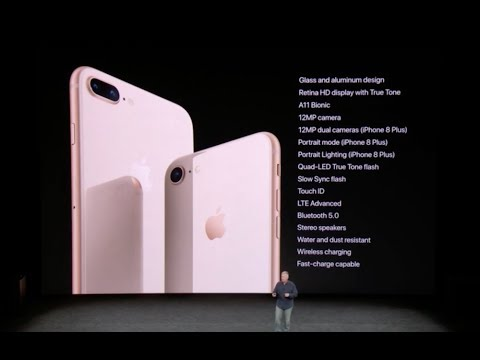 iPhone 8 presentation at Apple special event