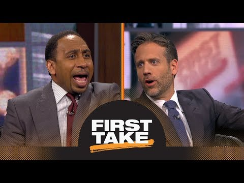 Stephen A. And Max Get Heated Debating LeBron James Possibly Joining 76ers | First Take | ESPN