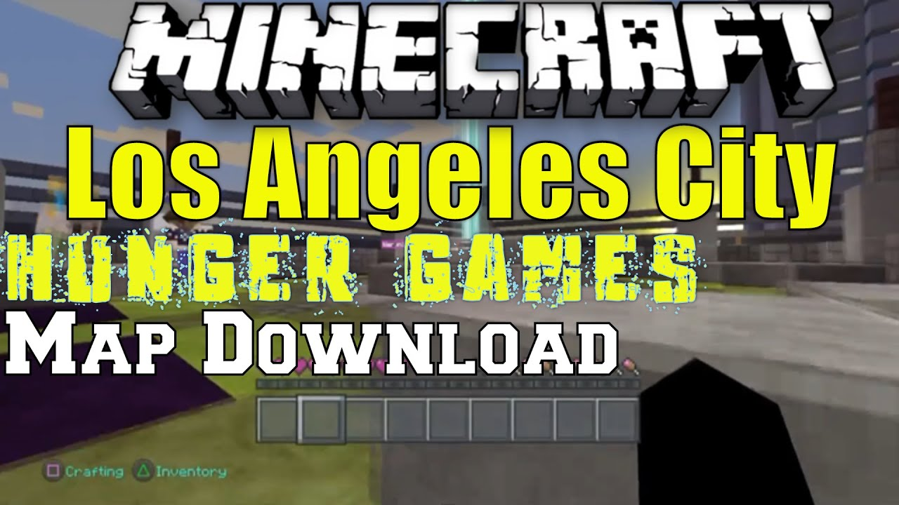 Minecraft Los Angeles City Hunger Games Game Play PSPS - Los angeles map download
